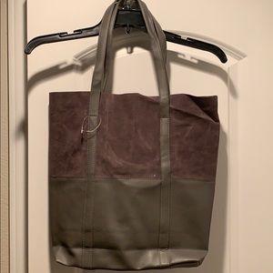 2-Tone Suede Tote Bag *NWOT*